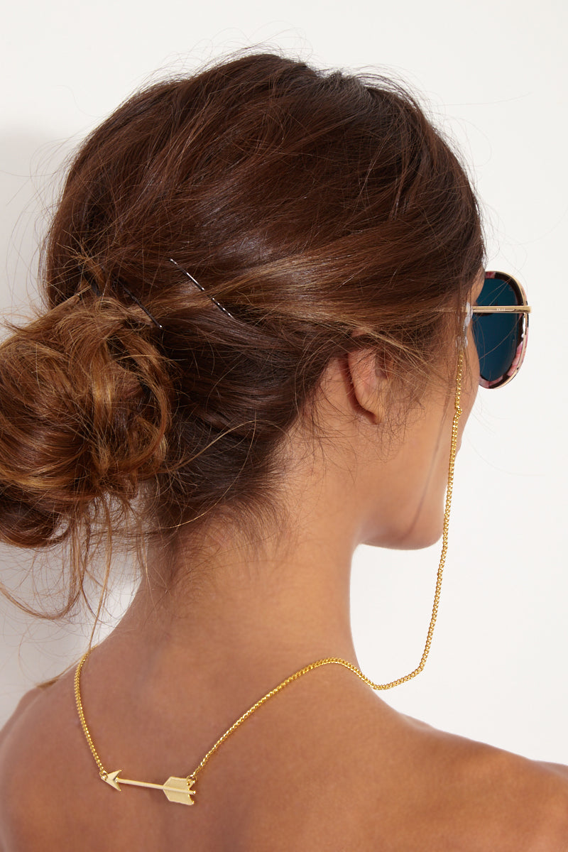 Gold Arrow Backlace