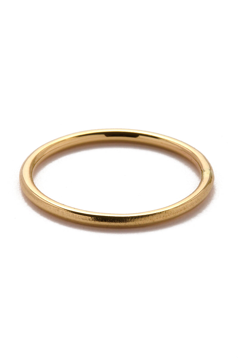 Gold Saros Stack Ring