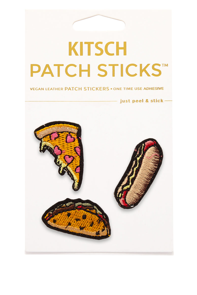 Favorite Foods Patch Sticks