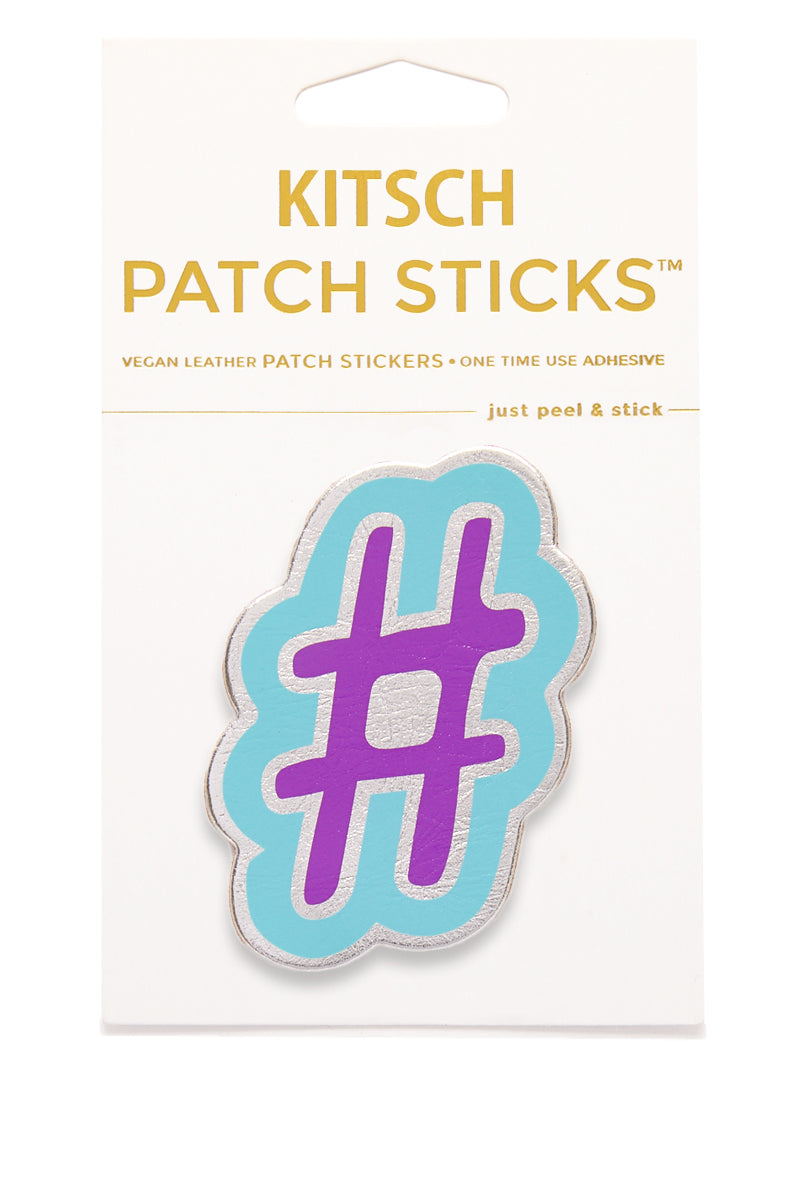 Hashtag Patch Stick