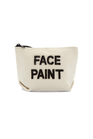 FALLON AND ROYCE Face Paint Cosmetic Bag Tote | Face Paint Cosmetic Bag