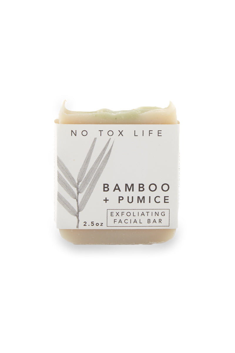Bamboo + Pumice Exfoliating Facial Bar