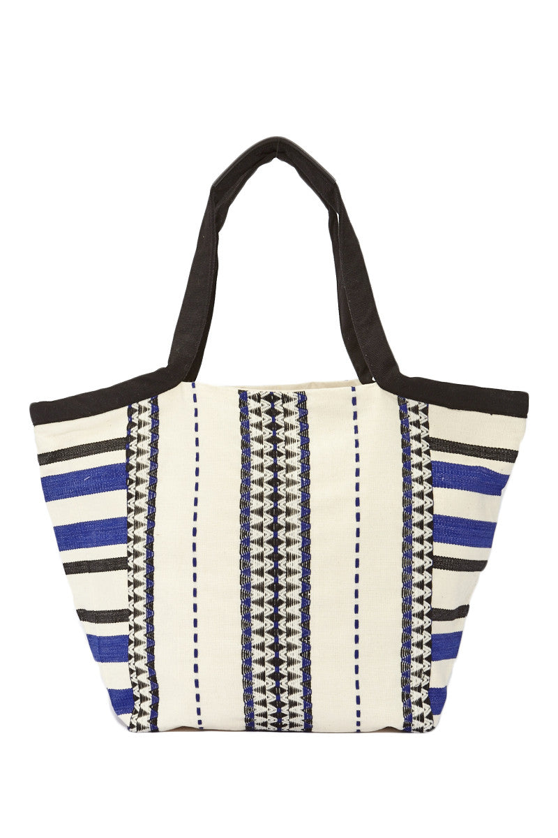 Mercado Global Rosa Tote Tote | Ultramarine/Black| Mercado Global Rosa Tote