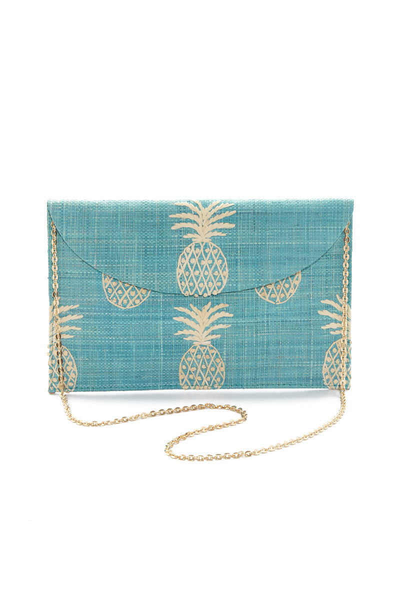 PINA Clutch - Turquoise