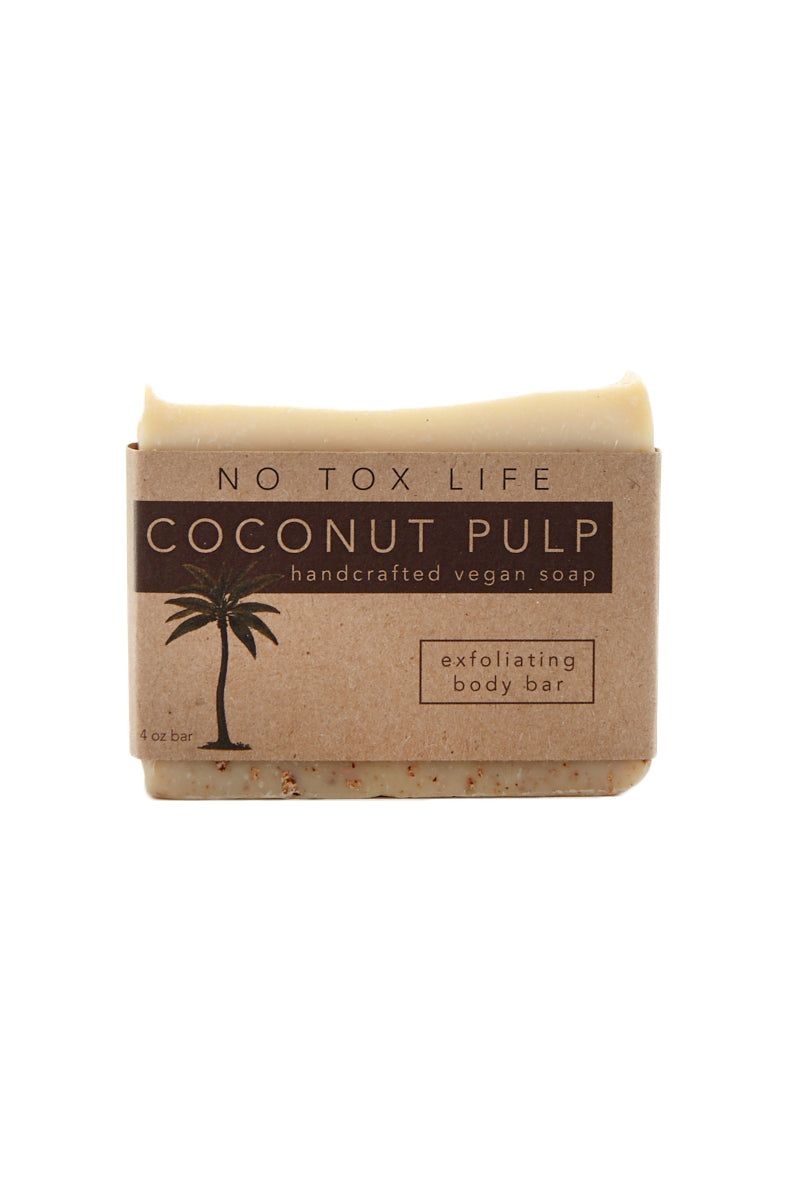 Coconut Exfoliating Juice Pulp Bar