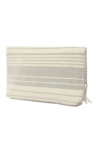 Mercado Global Margarita Clutch Tote | Black/Natural| Mercado Global Margarita Clutch