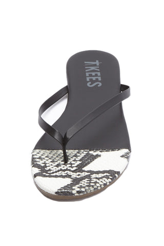 TKEES French Tip Sandals Shoe | Diamondback| Tkees French Tip Sandals