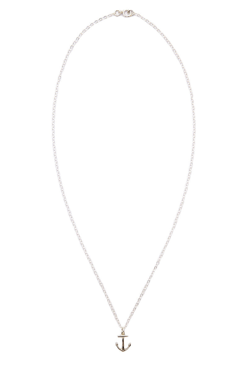 TATIANA KATZOFF Anchor Necklace Accessories | Silver| Tatiana Katzoff Anchor Necklace