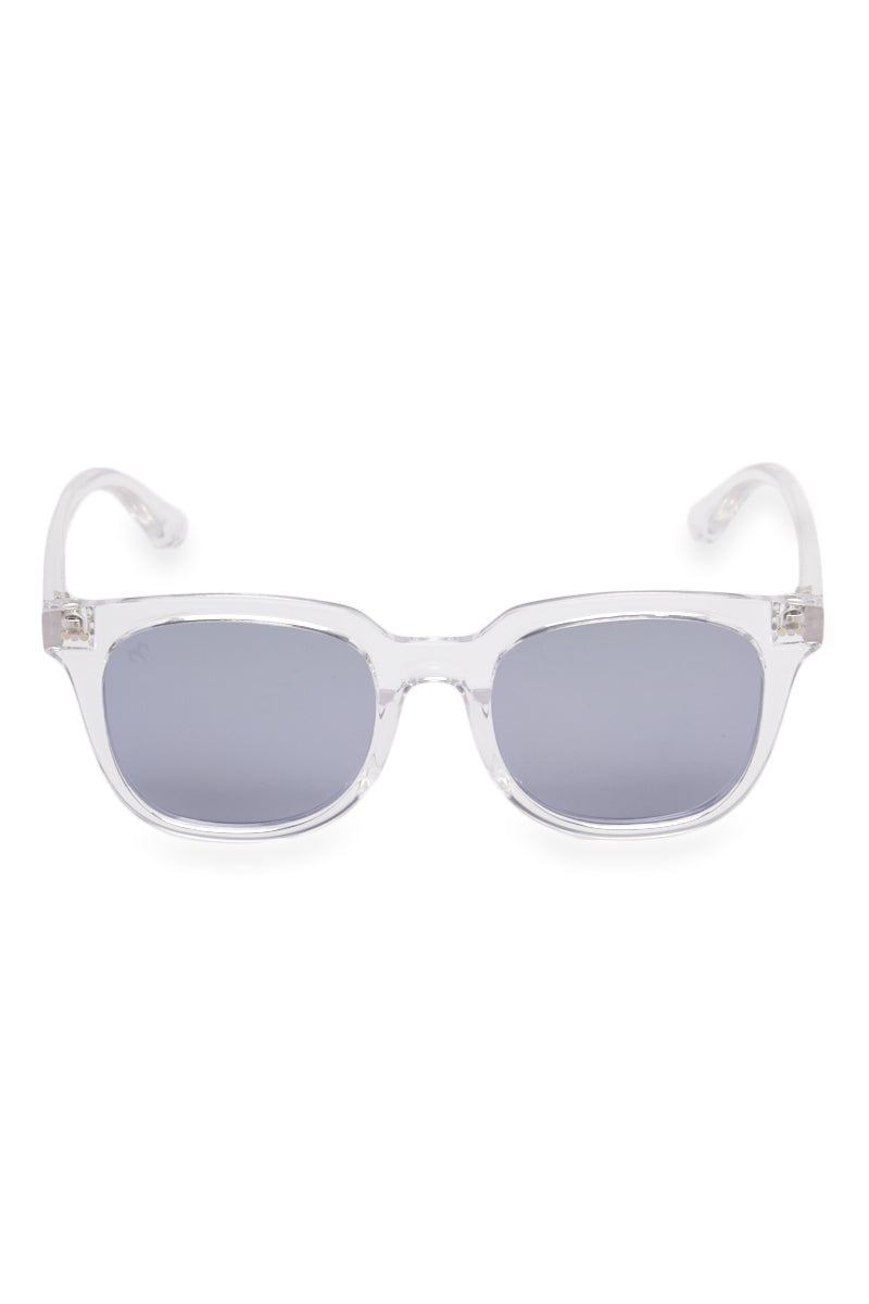 Gravity Sunglasses - Crystal Clear/Ash Gray