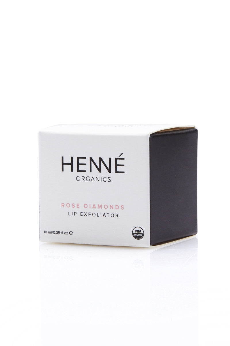 HENNE ORGANICS Rose Diamonds Lip Exfoliator Beauty | Rose Diamonds Lip Exfoliator