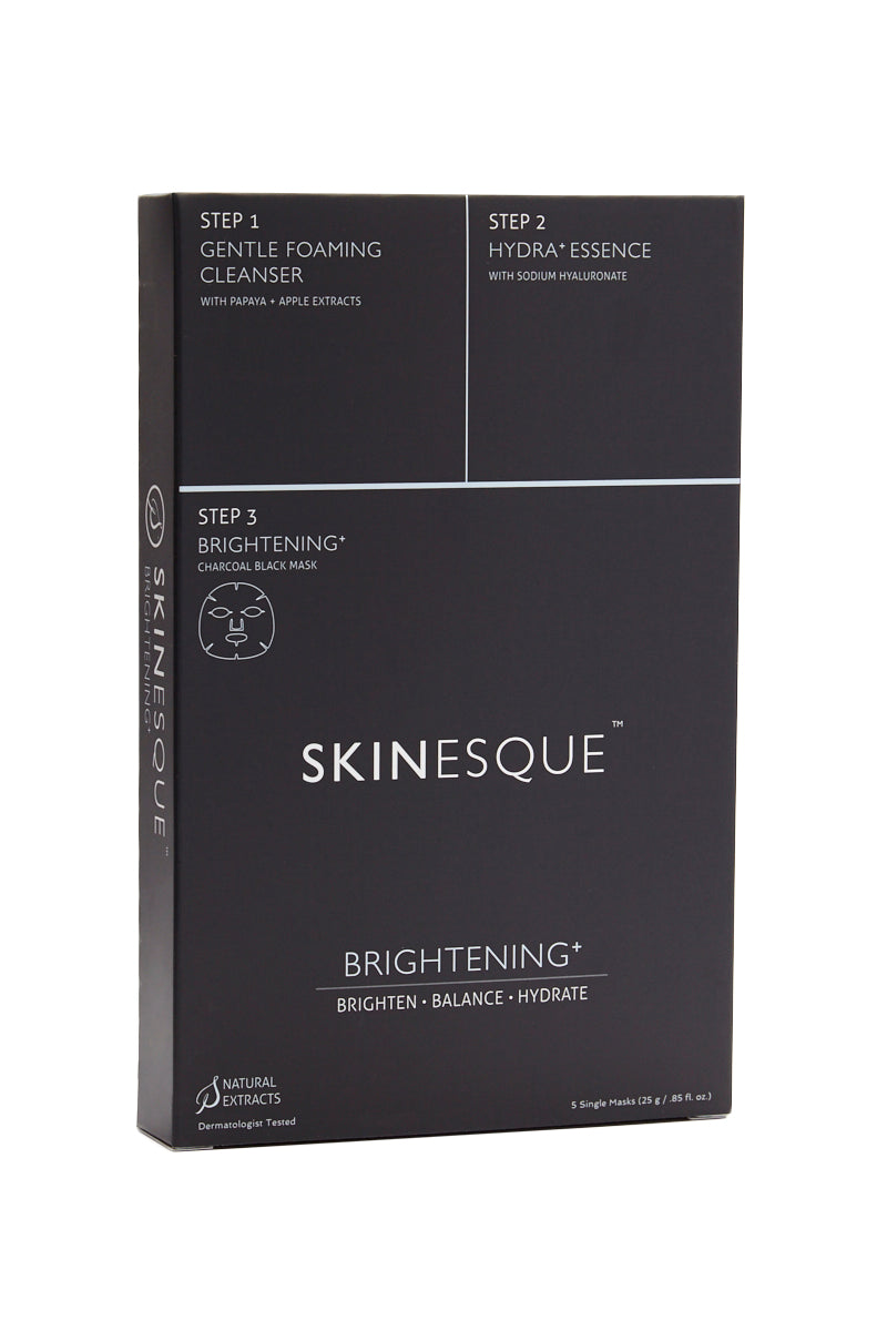3-Step Brightening Charcoal Mask