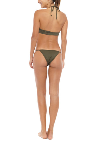 RIOT SWIM Dame Bottom Bikini Bottom | Green| Riot Swim Dame Bottom