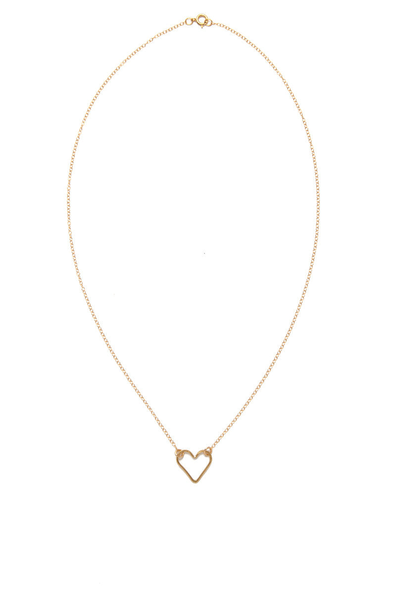 SIMONE JEANETTE Rosa Necklace Accessories | Gold| Simone Jeanette Rosa Necklace