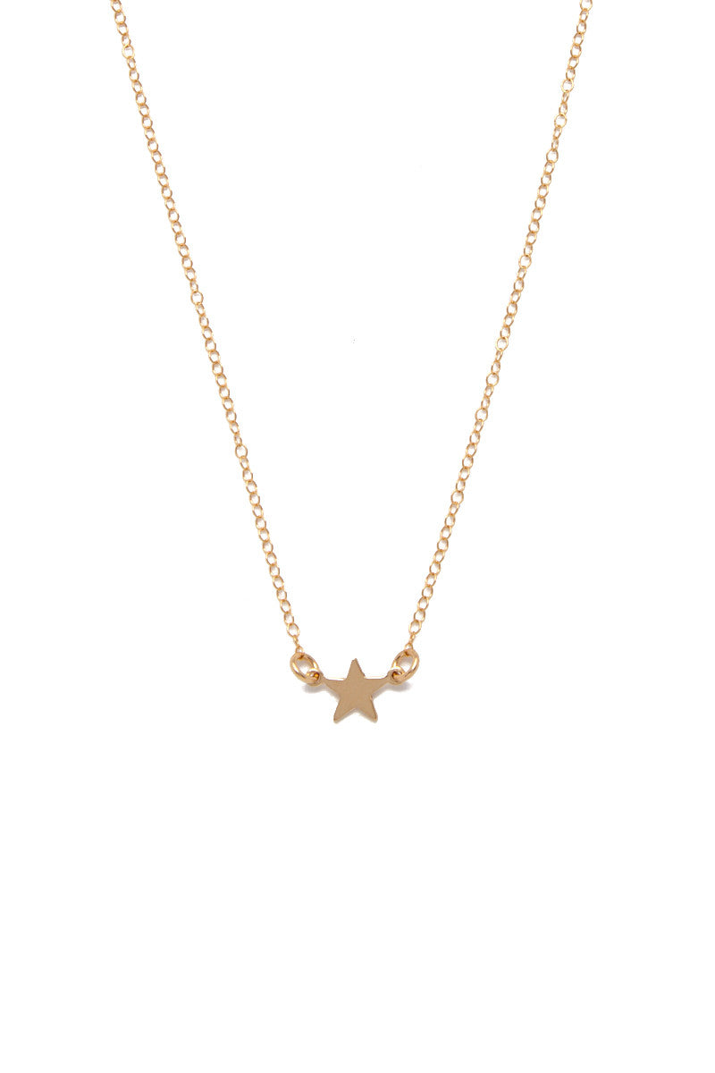 SIMONE JEANETTE Aviva Necklace Accessories | Gold| Simone Jeanette Aviva Necklace