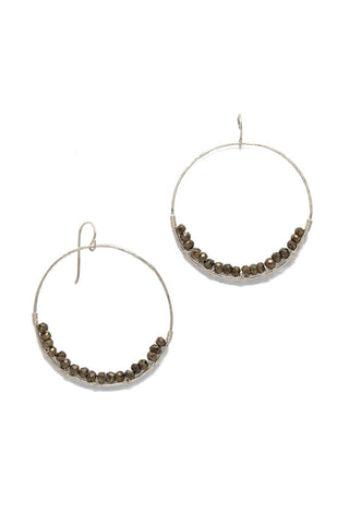 SIMONE JEANETTE Adrianna Earrings Accessories | Silver| Simone Jeanette Adrianna Earrings