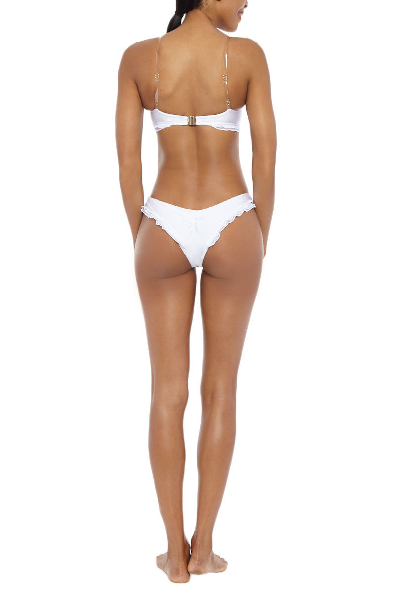 AFINA LONDON Georgina Bottom Bikini Bottom | White| AFINA LONDON Georgina Bikini Bottom