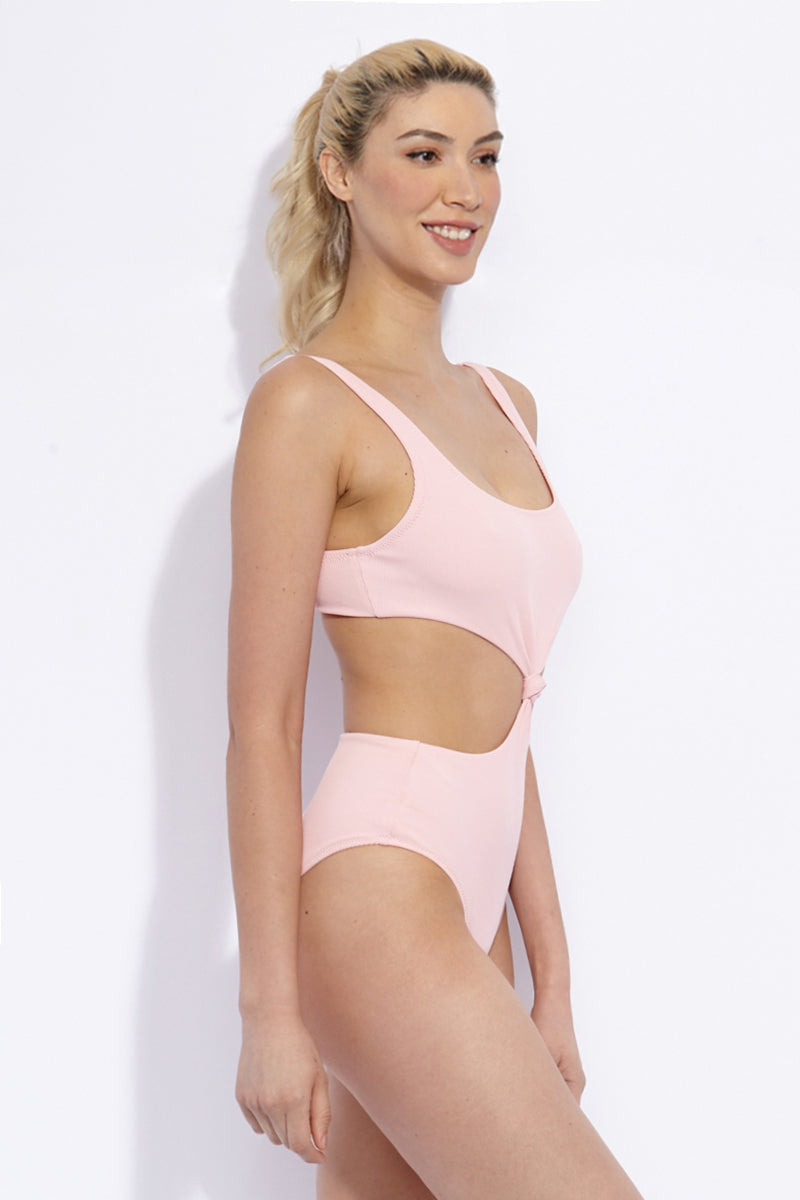 SOLID & STRIPED The Bailey One Piece One Piece | Petal Rib| Solid & Striped The Bailey One Piece