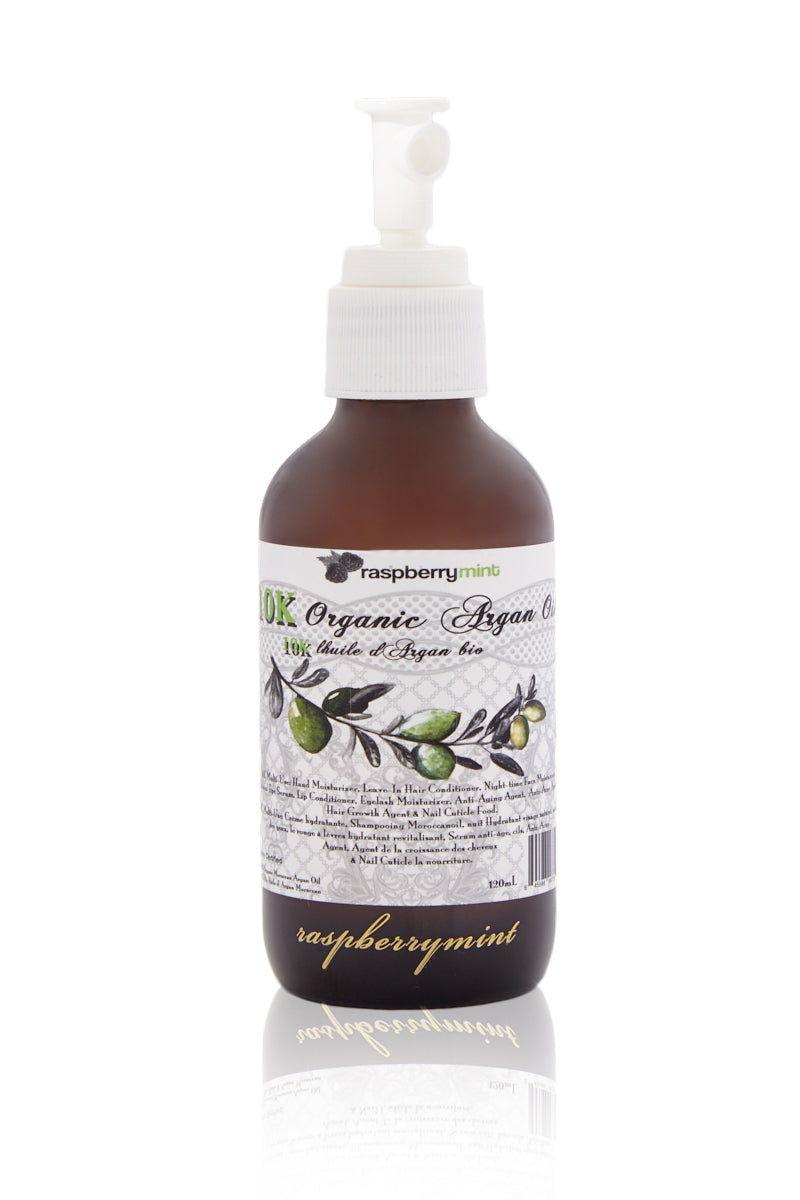 Unscented 10K Organic Argan Oil