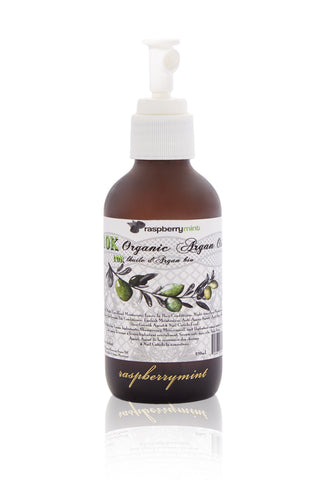 RASPBERRY MINT Unsented 10K Organic Argan Oil Beauty | Unsented 10K Organic Argan Oil