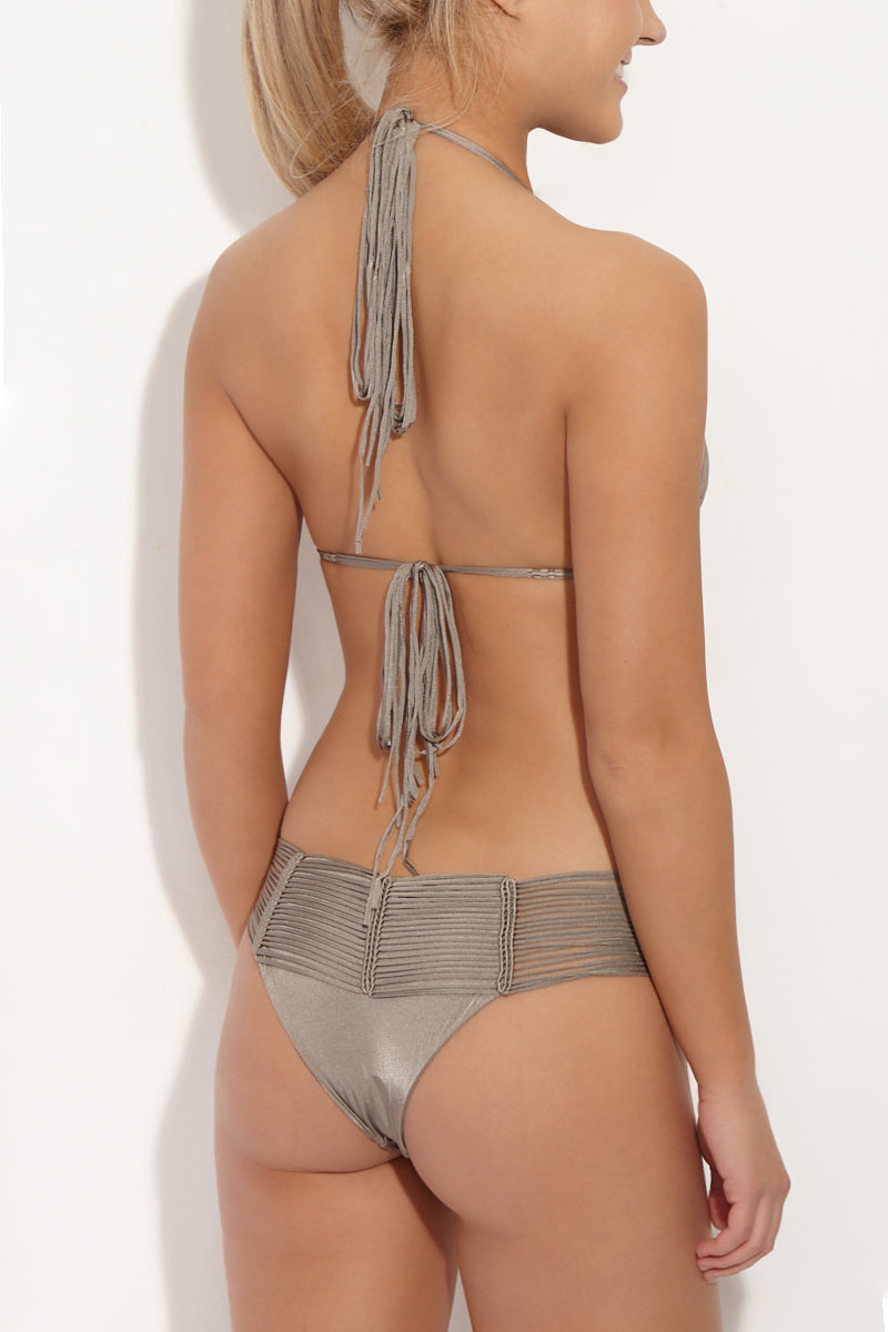 Fallen Macrame Bottom - Taupe