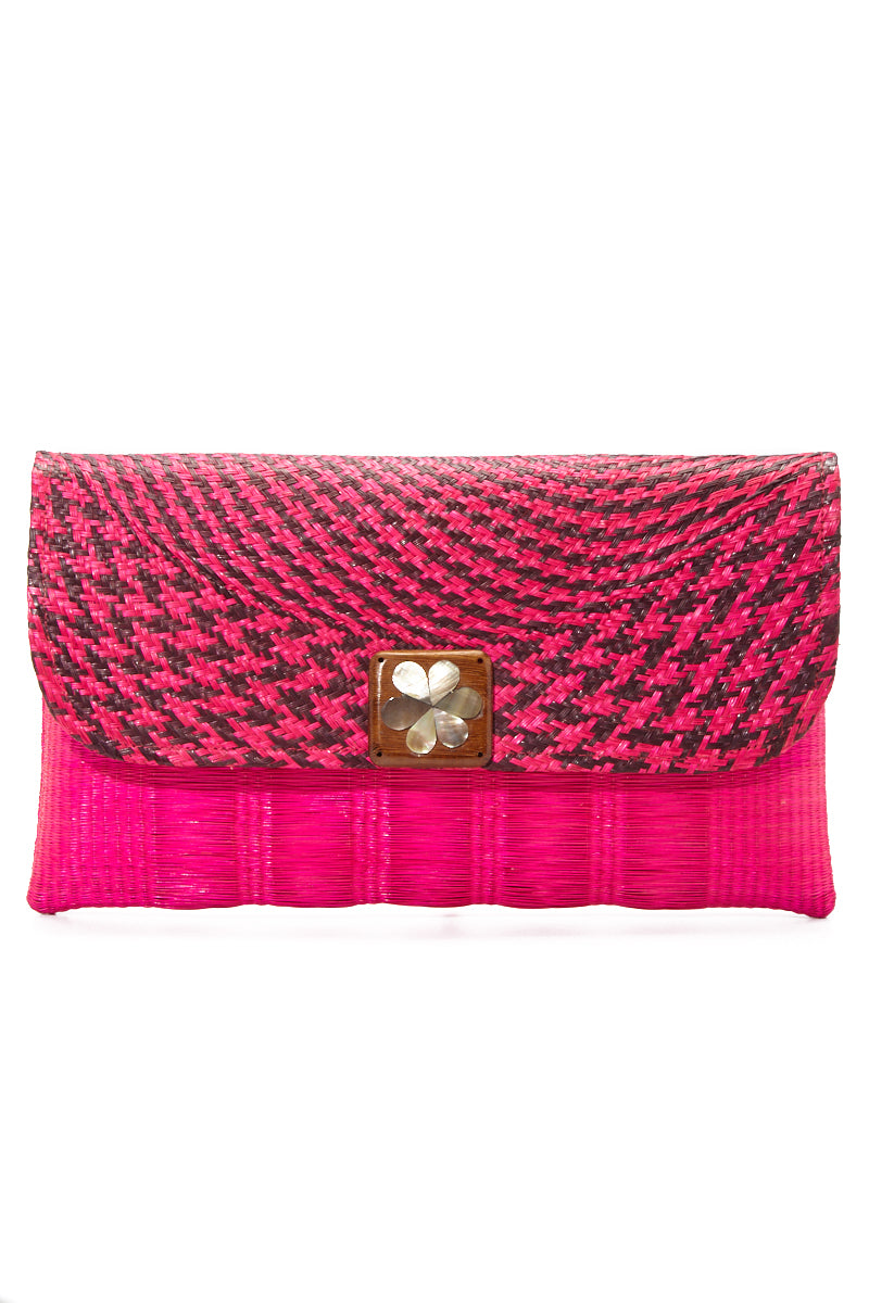 Pink Amy Buntal Clutch