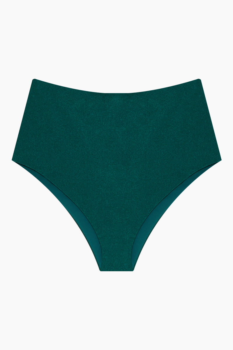 0d002f2f43 PATBO High Waist Bikini Bottom - Teal - undefined undefined ...
