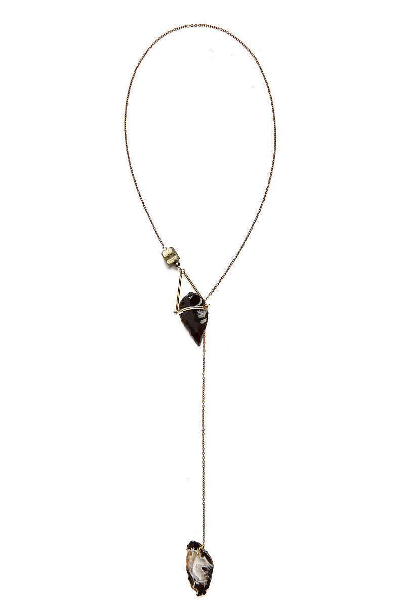 18 02 10 Jewerly0033 Arrowhead Lariat Necklace