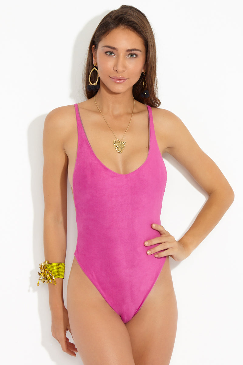 DBRIE The Daxi One Piece - Orchid One Piece | Orchid| Dbrie The Daxi One Piece - Orchid Front View