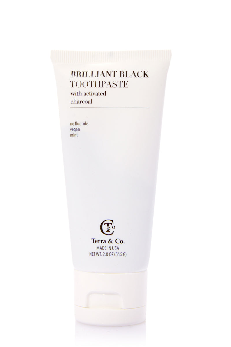 2oz Brilliant Black Toothpaste