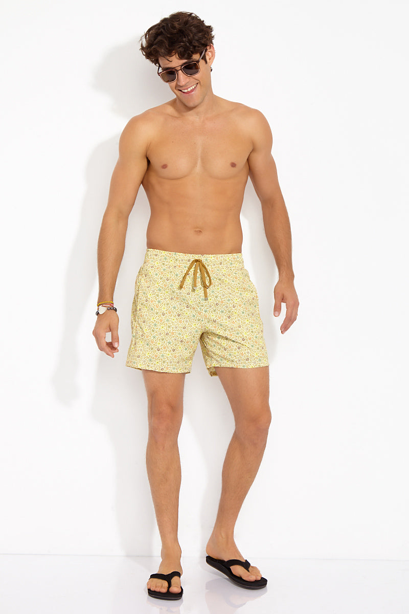 Roger Classic Stretch Boardshorts - Yellow