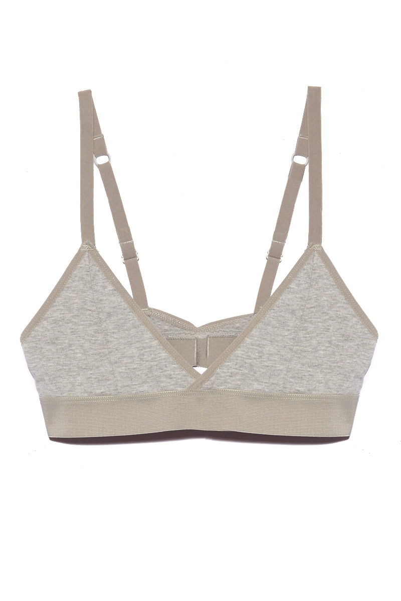 The Bralette - Heather Grey