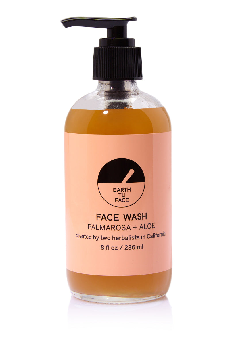 EARTH TU FACE Face Wash - 8 fl oz Beauty   EARTH TU FACE Face Wash - 8 fl oz The purest form of gentle soap made with organic, food-grade oils. This is a true soap that will remove impurities, make-up and refresh the face without stripping the skin.