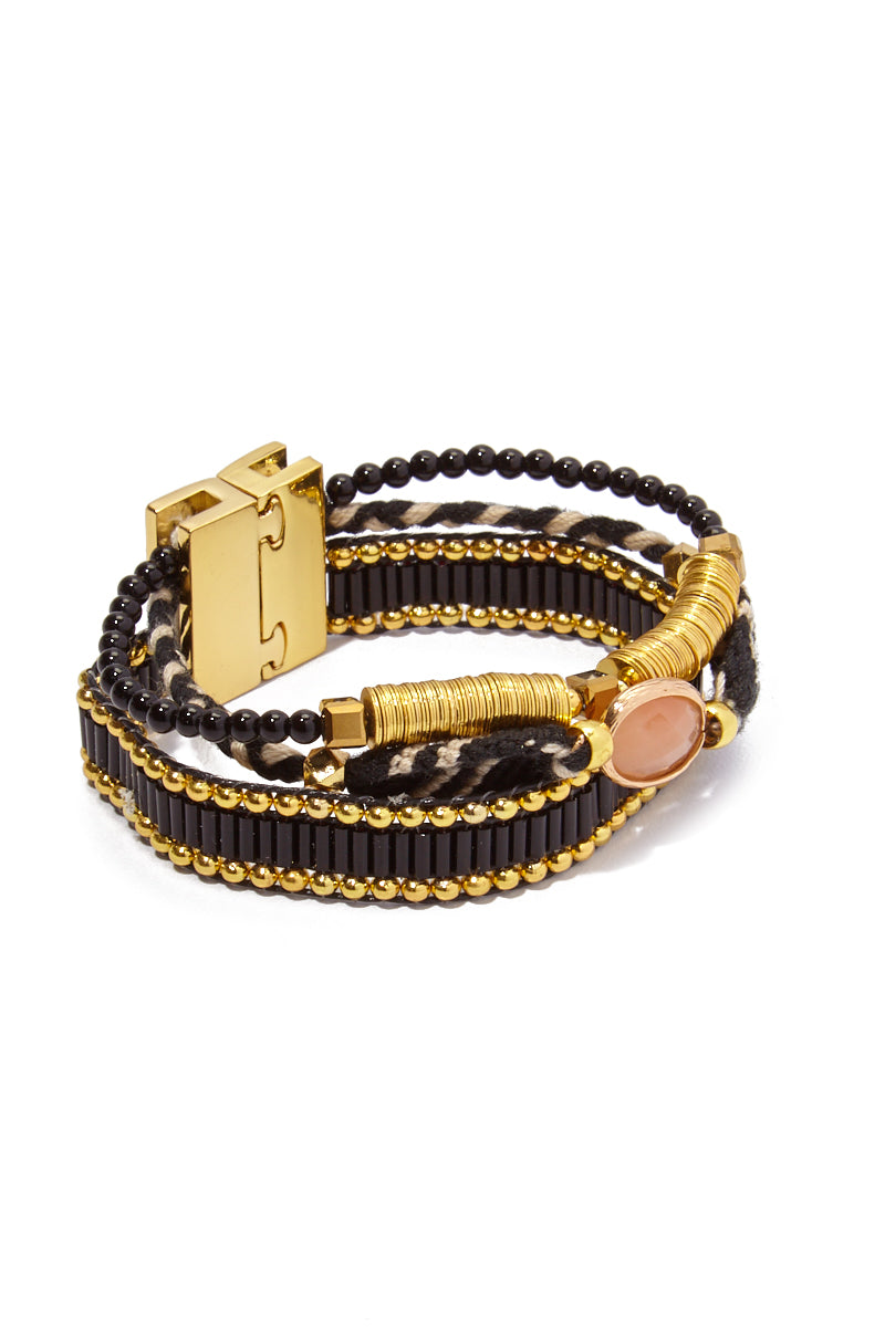 Lana Mini Bracelet - Black