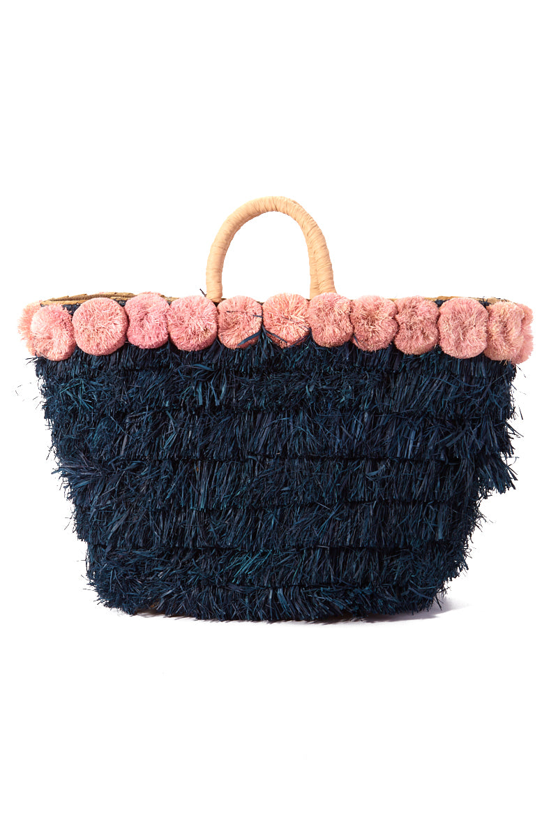 """KAYU Lucca Tote- Pink/Blue Bag 