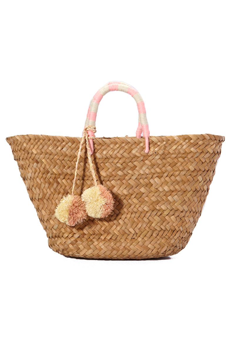 St. Tropez Tote - Baby Pink
