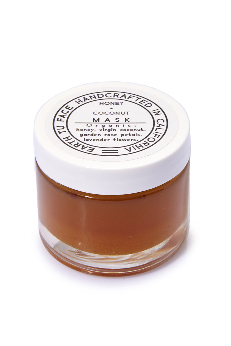Organic Honey + Coconut Mask - 2 oz