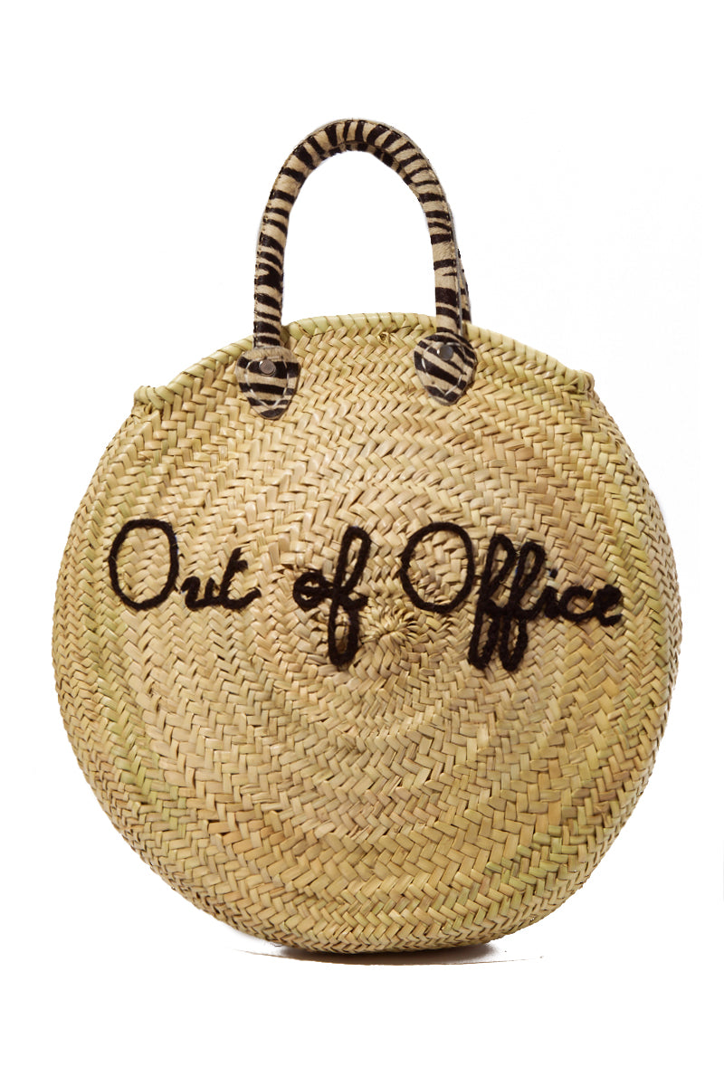 Straw Circle Bag - Out of Office