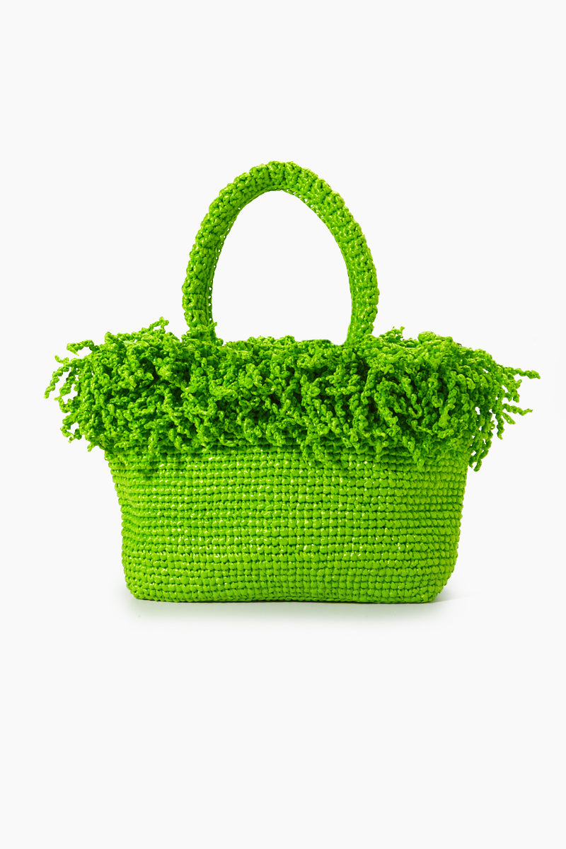 Medium Happy Bag - Green