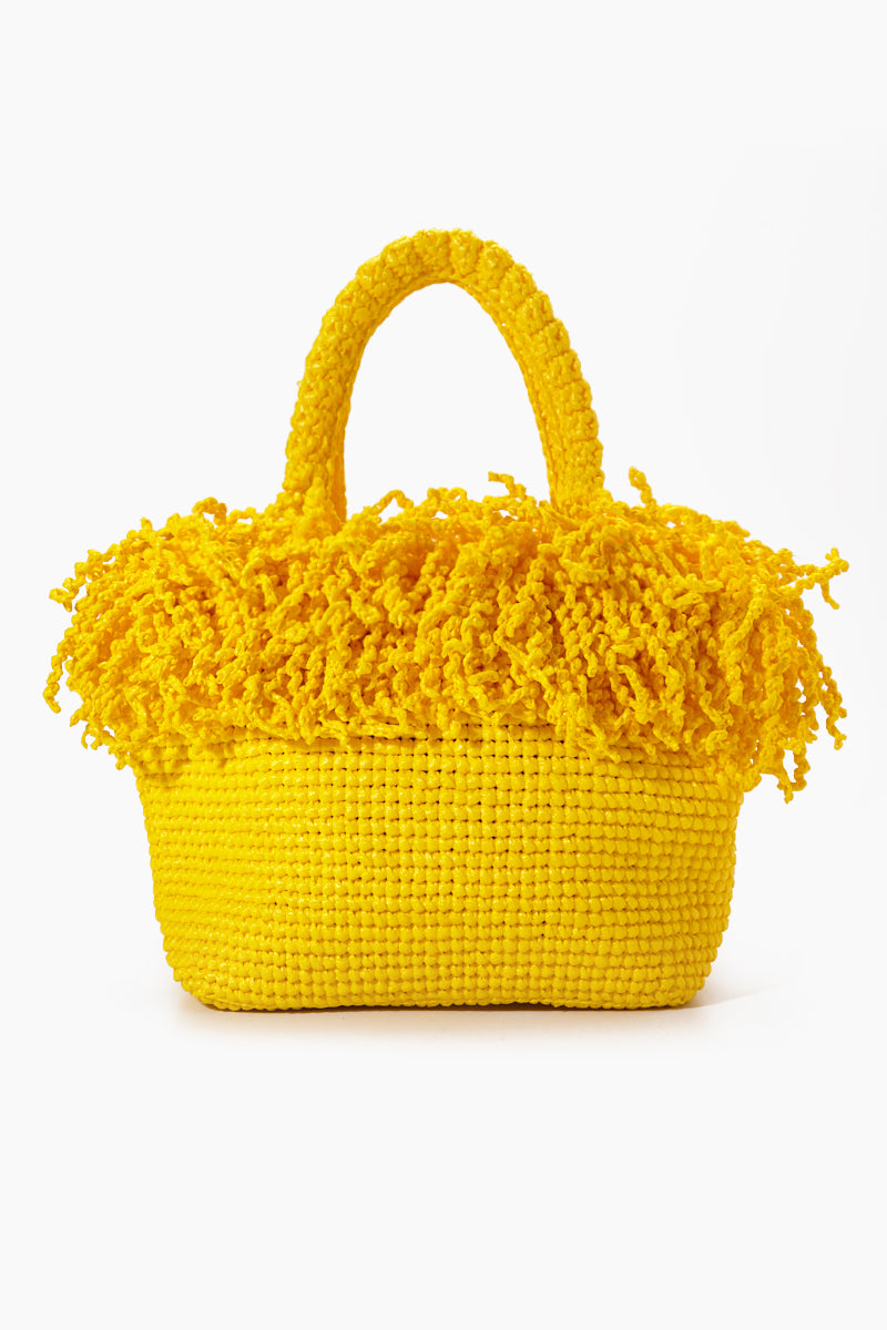 Medium Happy Bag - Yellow