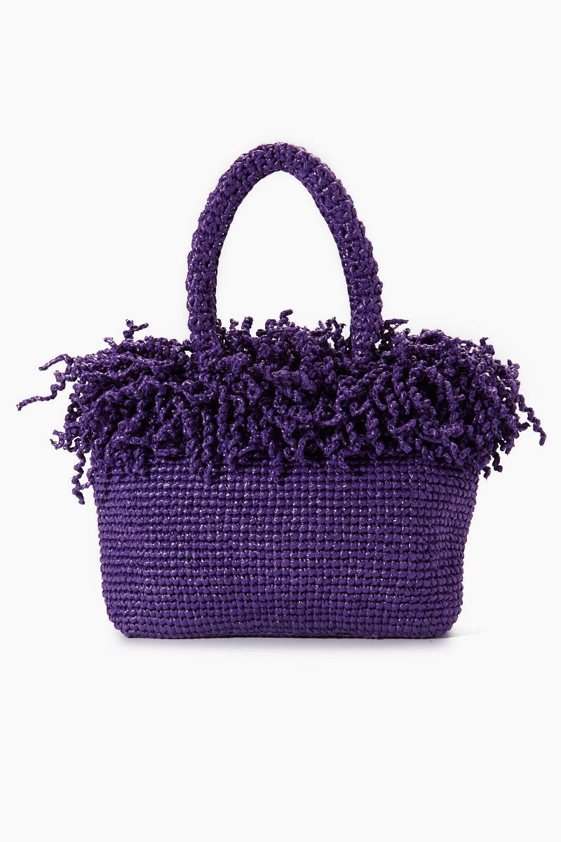 Medium Happy Bag - Purple