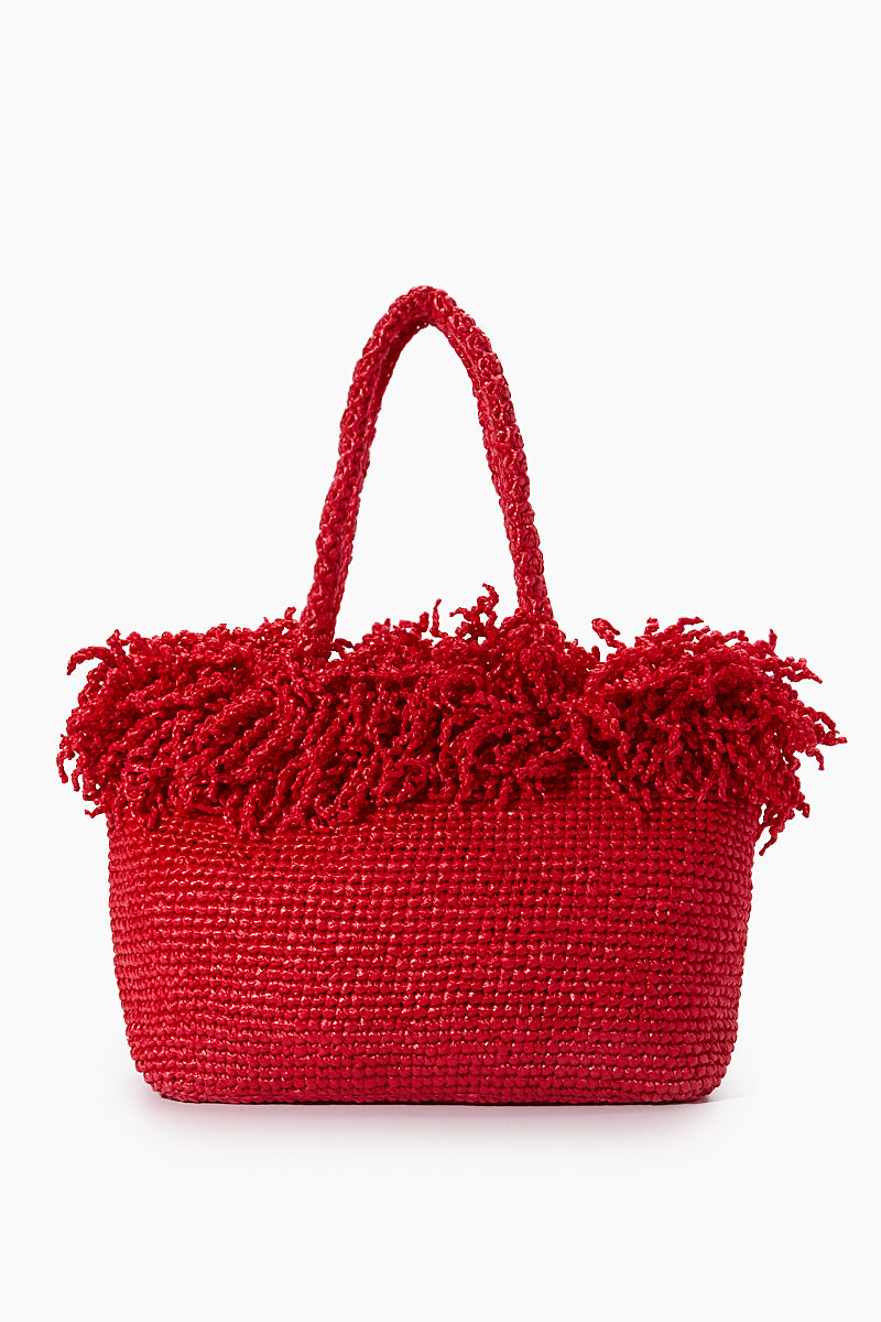 Large Happy Bag - Red
