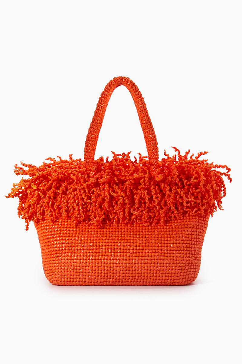 Large Happy Bag - Orange