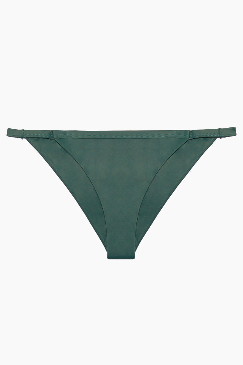 18 04 27 FLat Lays NS0007 01 Solid Medium Bikini Bottom 8211 Mallard Green
