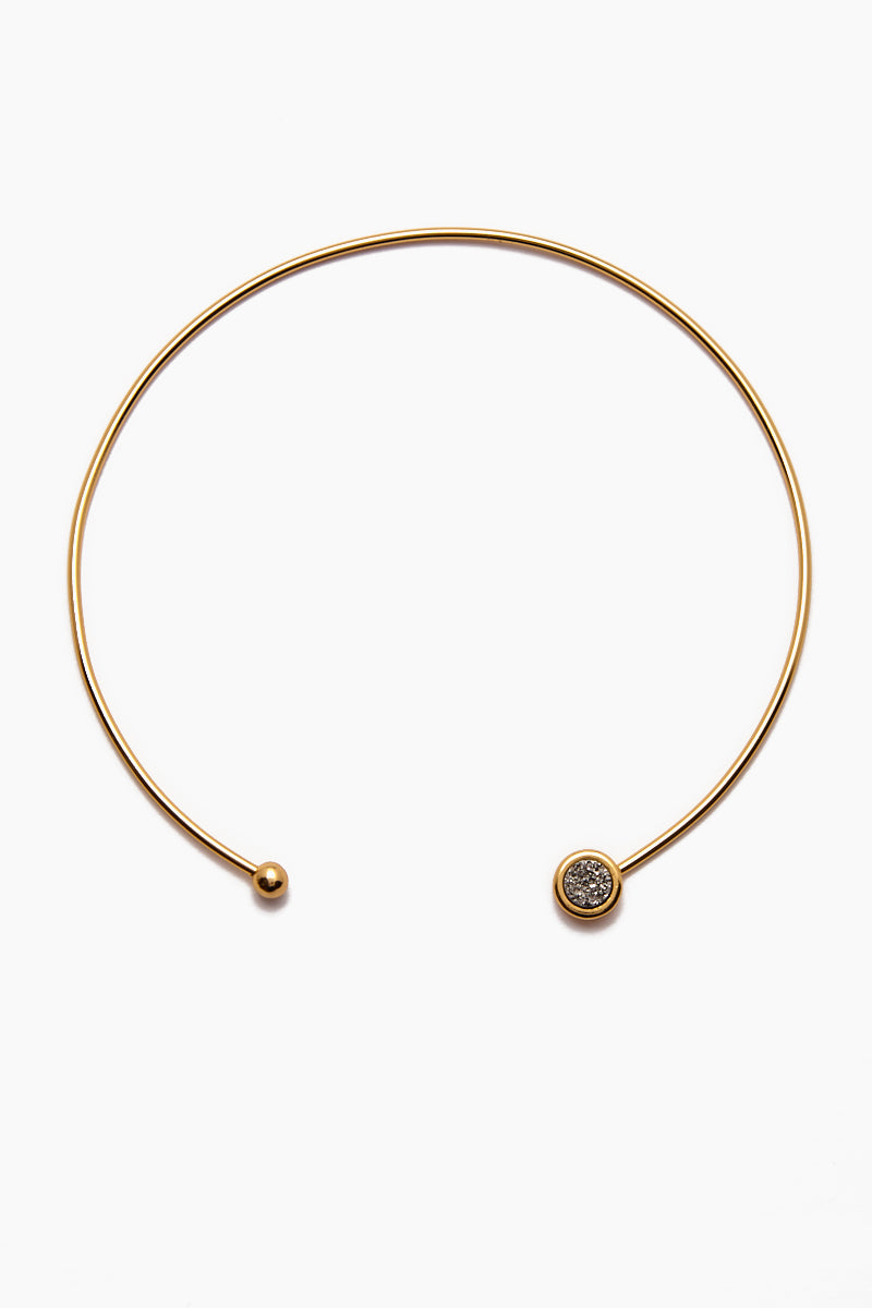 Vinca Choker Necklace - Gold