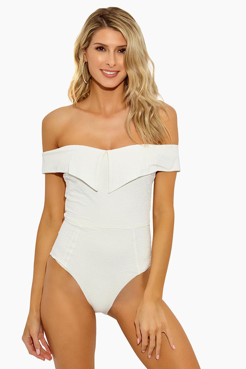 Jaqueline Maillot One Piece - Ivory