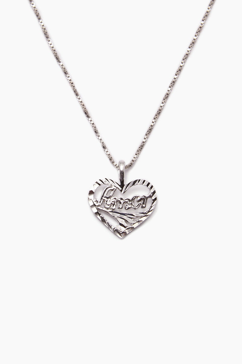 The Amor Necklace - Silver