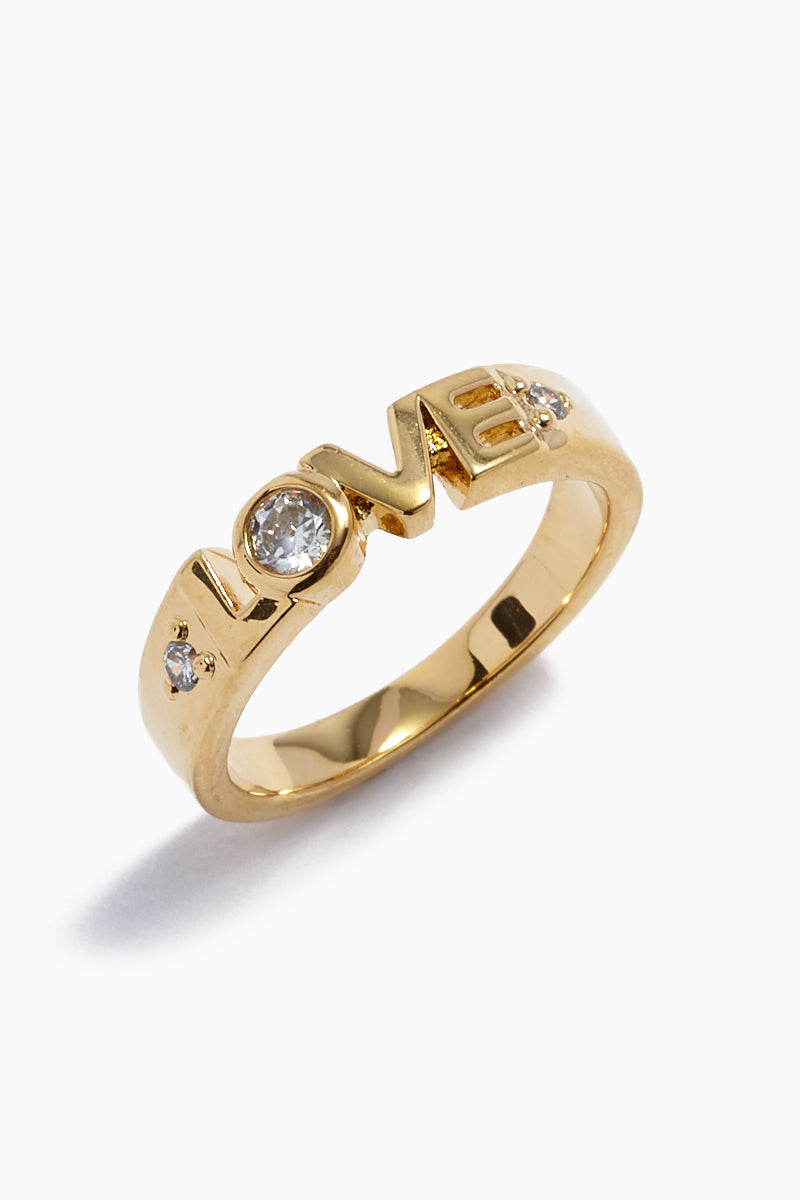 The Love Ring - Gold