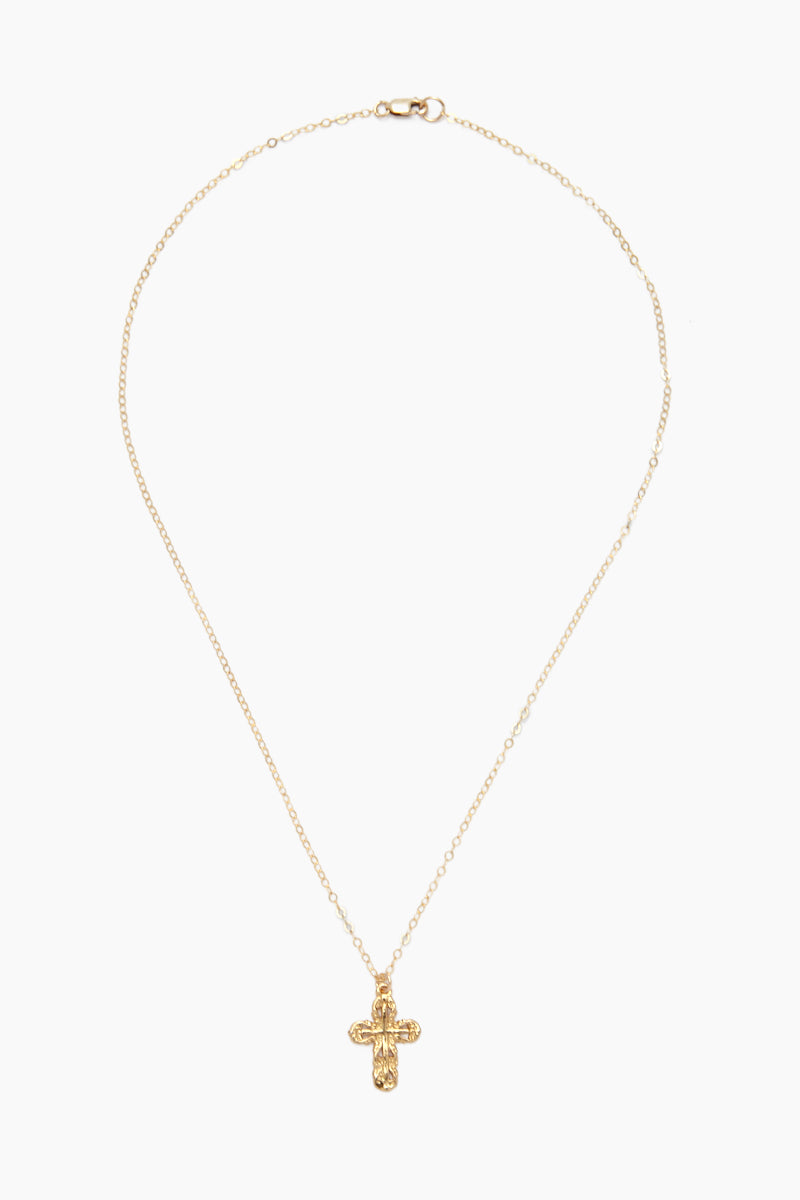 Holy Cross Necklace - Gold