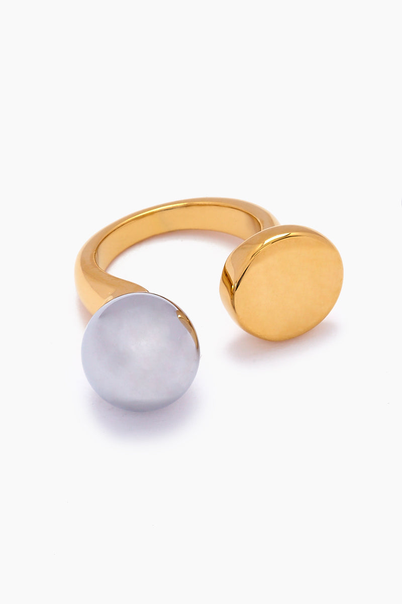 Chantell Ring - Silver/Gold