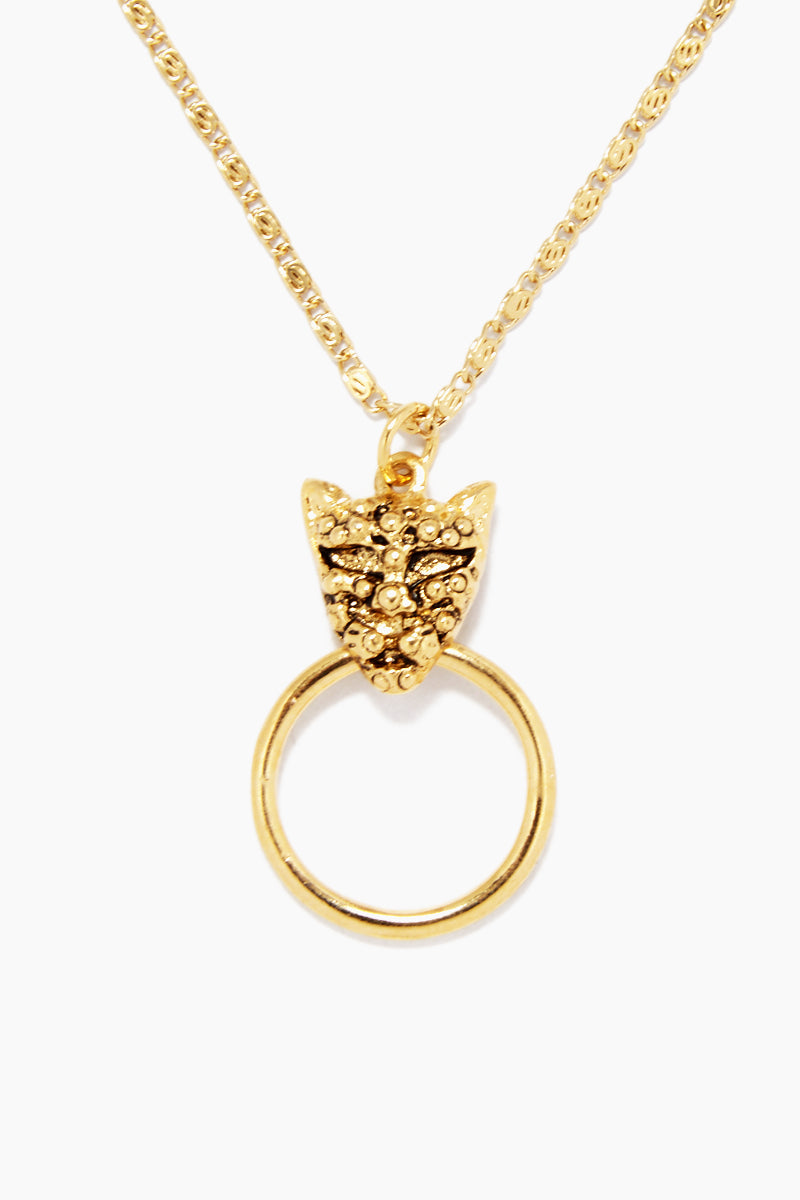 The Panther Necklace - Gold